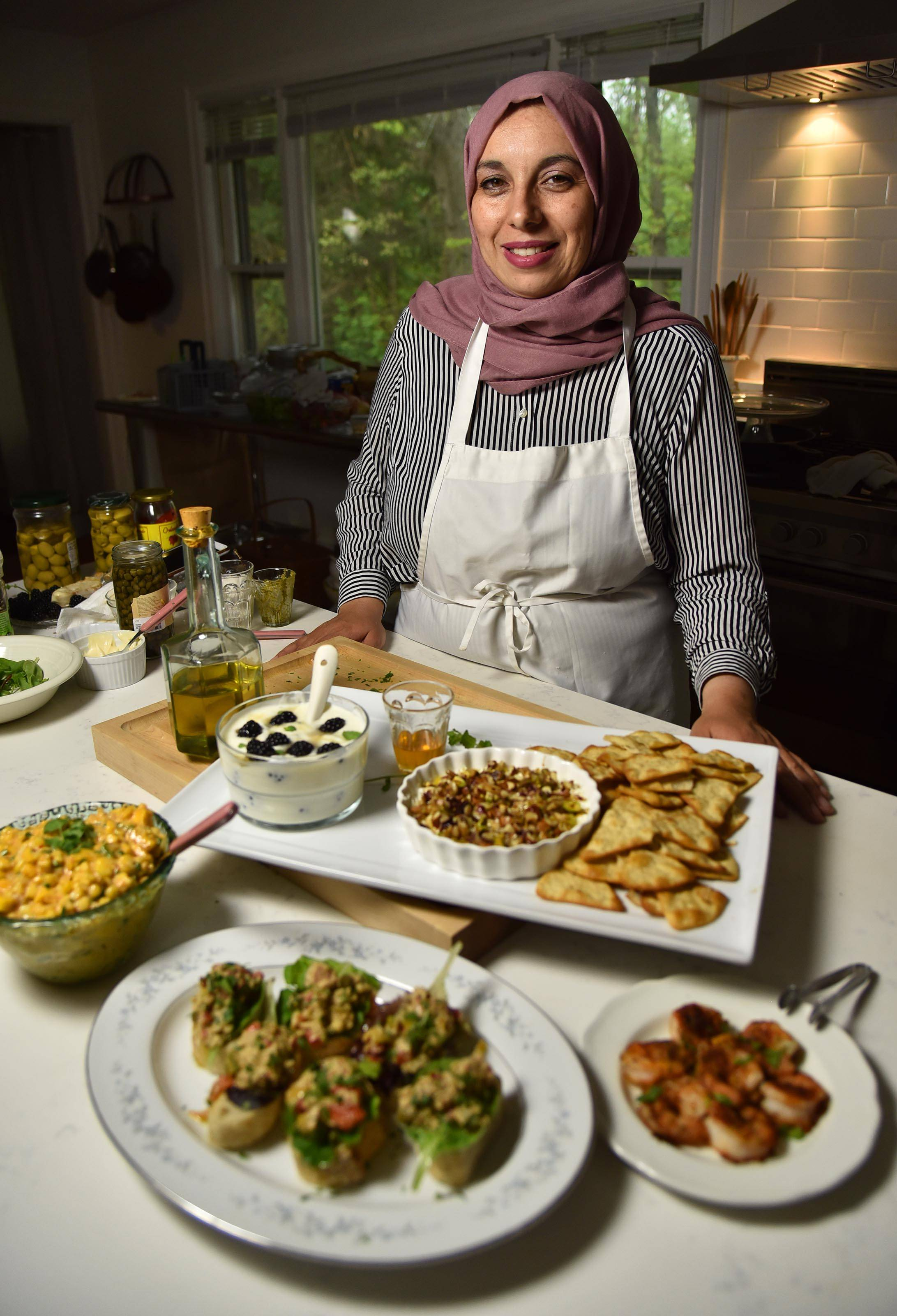 Yvonne Maffei, a halal food blogger from Crystal Lake, encourages eating healthy and wholesome meals when breaking the fast during Ramadan, the Islamic month beginning midweek.