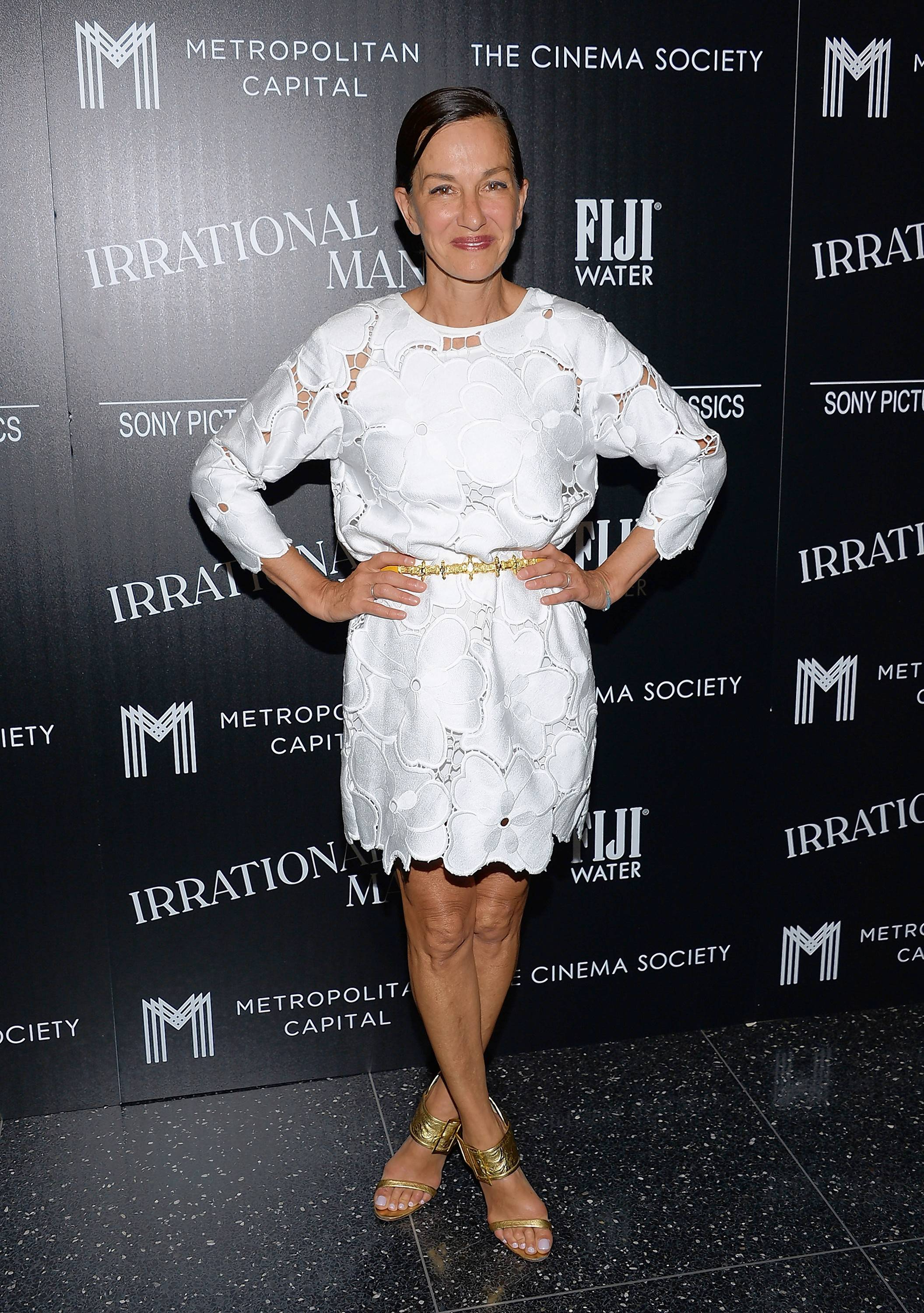 "Barrington will be celebrating ""Cynthia Rowley Week"" from May 29 through June 2. She'll be in her hometown for events on June 1 and 2. Here, she attends a special screening of ""Irrational Man"" at the Museum of Modern Art in New York in 2015."