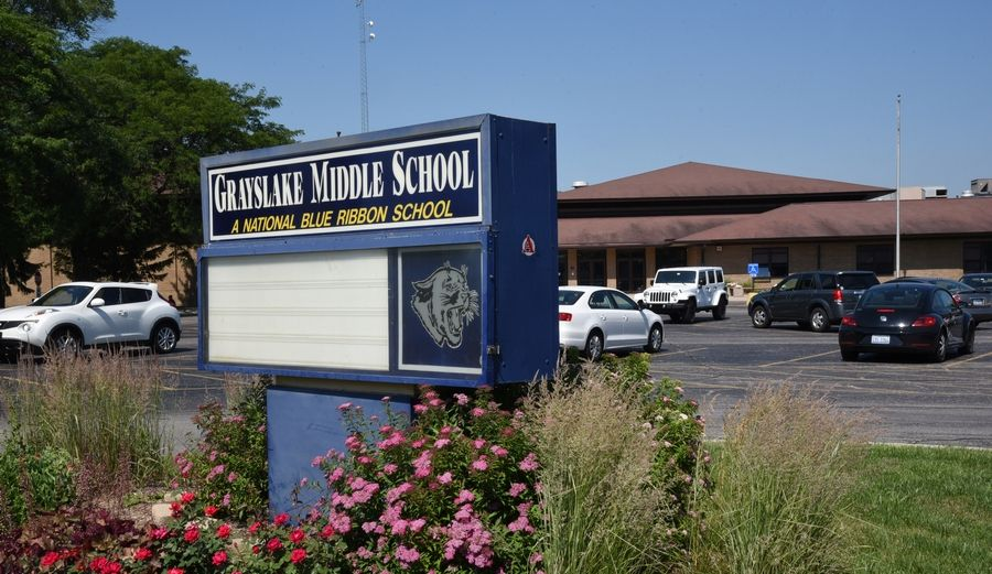 Solar panels will be installed on the roof of Grayslake Middle School this summer.
