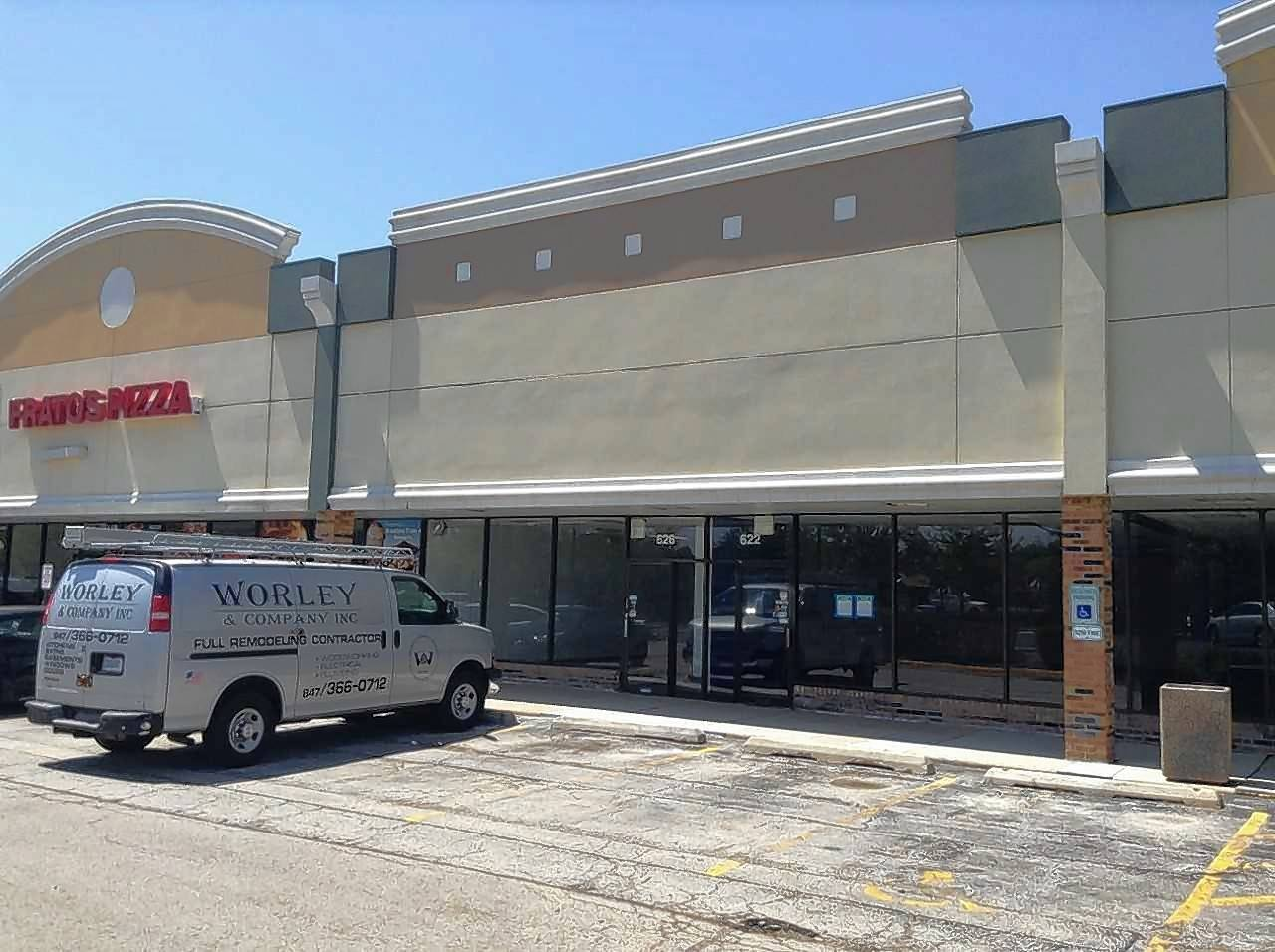 The future site of Angel's Kitchen at 624 S. Roselle Road in the Weatherway Plaza Shopping Center in Schaumburg.