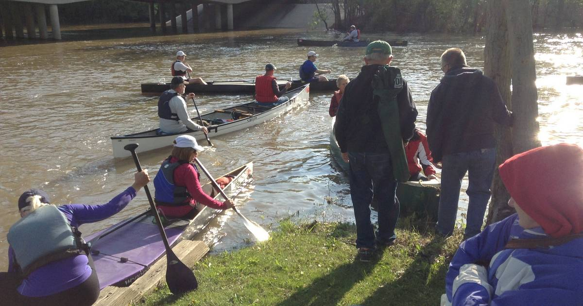Des Plaines River Canoe & Kayak Marathon canceled due to