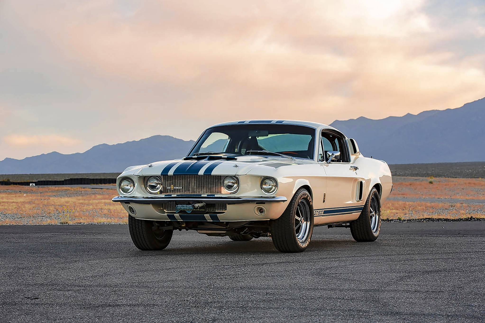 Shelby American will use 10 donor 1967 fastback Mustangs to create Shelby GT500 Super Snakes.