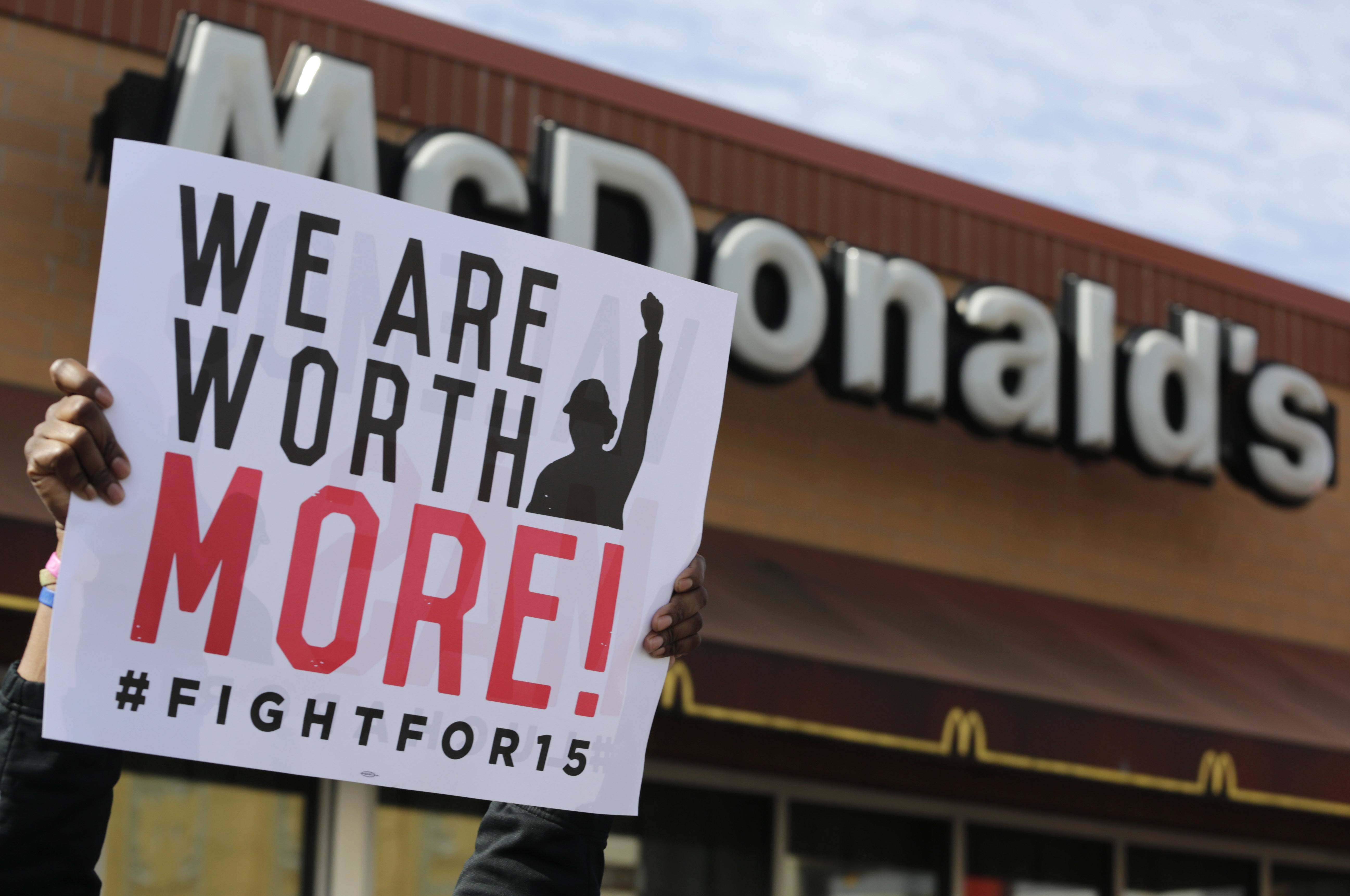 Fight for $15 is announcing that it's helping women in several U.S. cities to file complaints with the U.S. Equal Employment Opportunity Commission alleged they experienced sexual harassment while working at McDonald's.