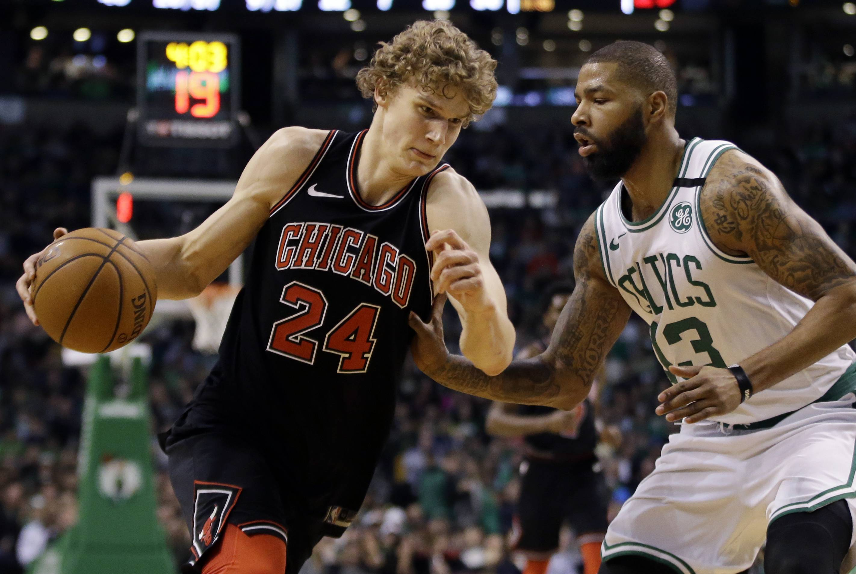 Chicago Bulls forward Lauri Markkanen was the fifth-leading vote-getter for the NBA all-rookie team.