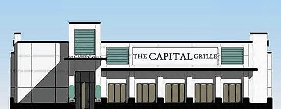 A rendering of The Capital Grille approved in Schaumburg. The restaurant could open by next spring.