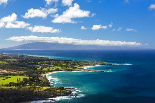 The Kapalua coastline in Maui, Hawaii. Kapalua Bay Beach is No. 1 on the list of best beaches for the summer of 2018 compiled by Stephen Leatherman, also known as Dr. Beach, a professor at Florida International University.