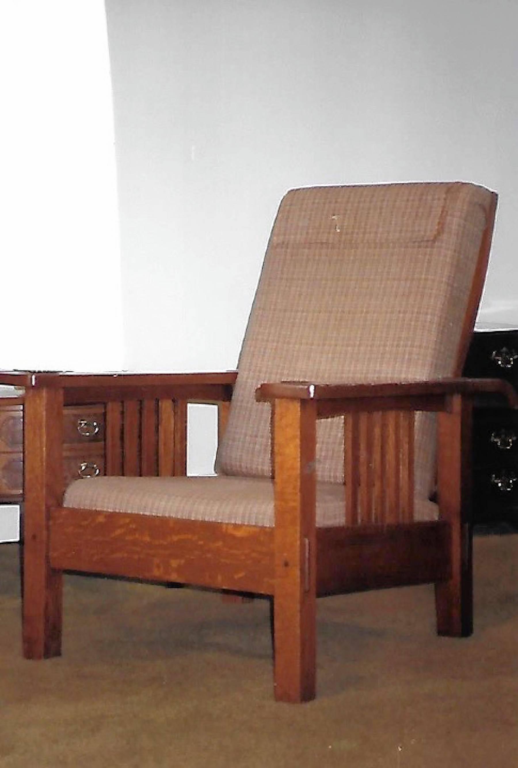 Morris Chair Design Is Attributed To William Morris.