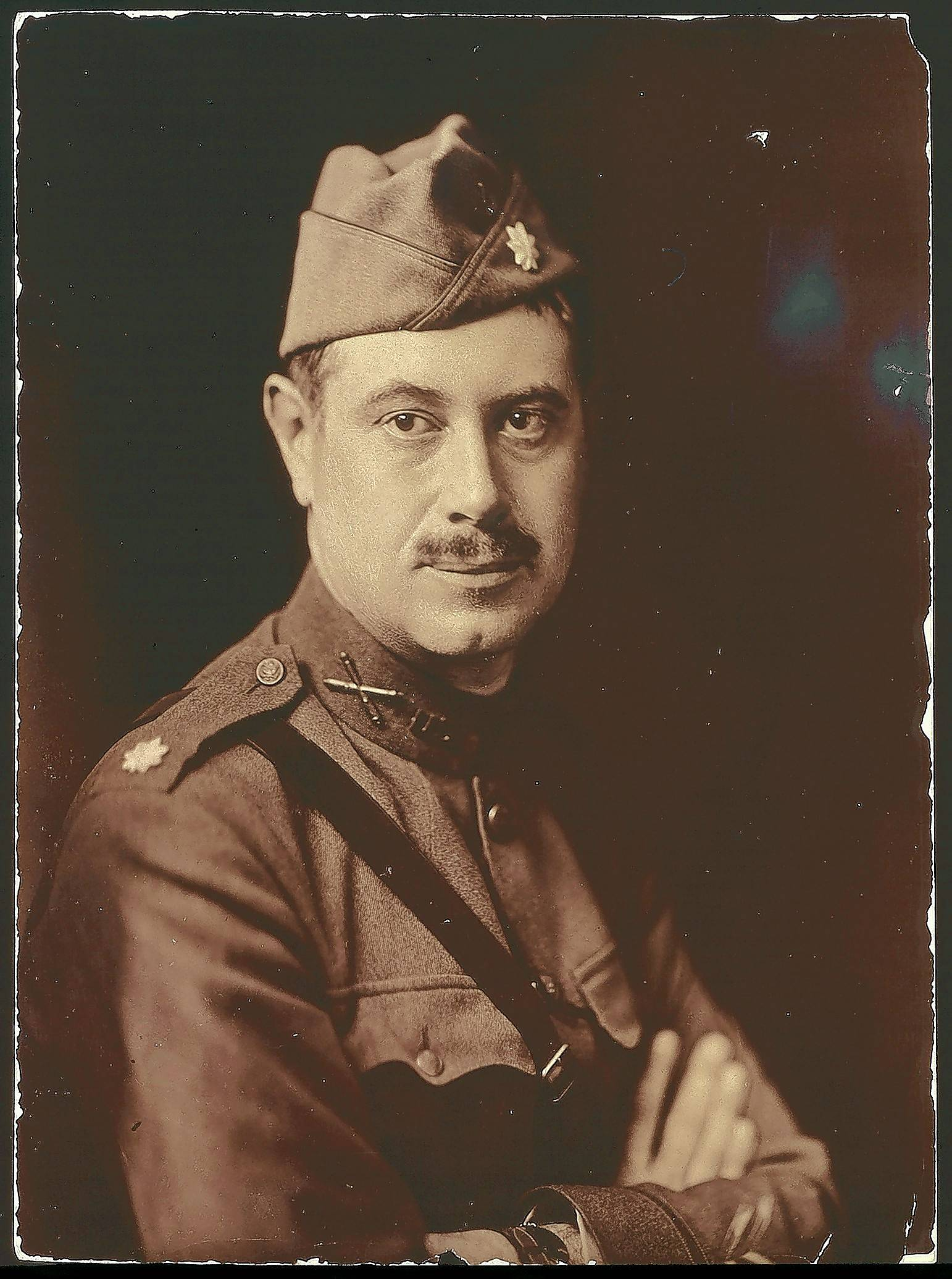 Col. Robert R. McCormick, Cantigny's benefactor, led an artillery unit in the Battle of Cantigny during World War I.