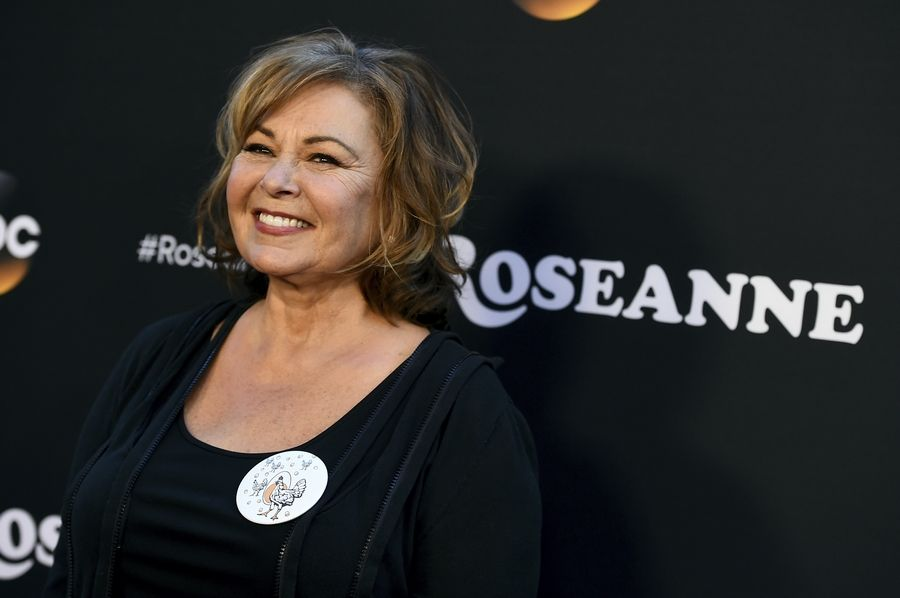 "Roseanne Barr has apologized for suggesting that former White House adviser Valerie Jarrett is a product of the Muslim Brotherhood and the ""Planet of the Apes."" Barr on Tuesday tweeted that she was sorry to Jarrett ""for making a bad joke about her politics and her looks."" Jarrett, who is African-American, advised Barack and Michelle Obama."