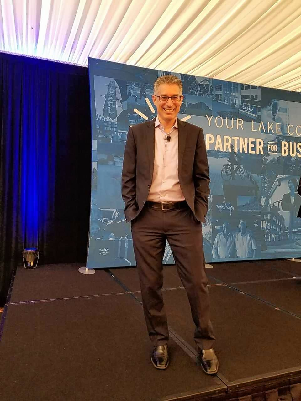 Featured speaker Robert Safian, former editor and managing director of Fast Company, shared secrets from some of the world's most innovative companies and insights on how to thrive in times of rapid change.