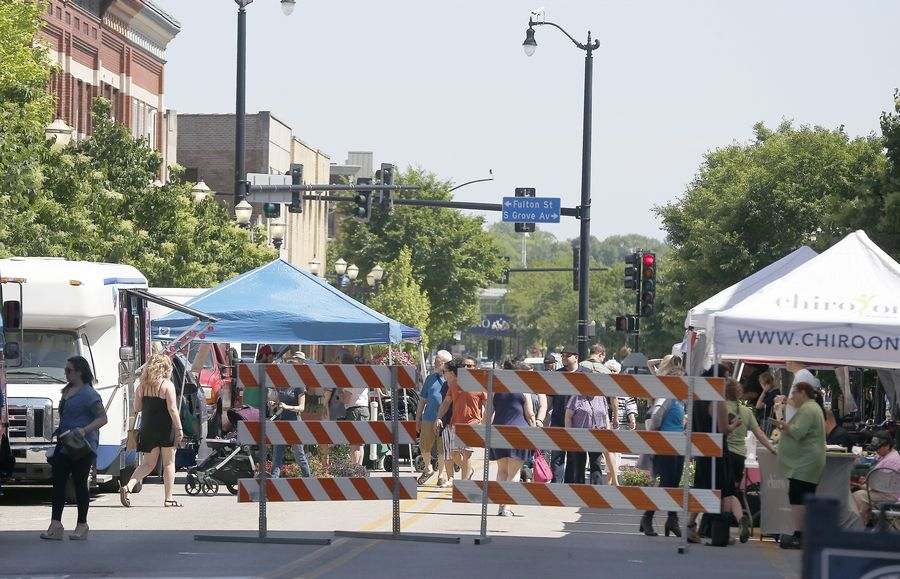 The revamped Elgin Farmers Market will offer locally produced fruit, produce, meat and eggs.
