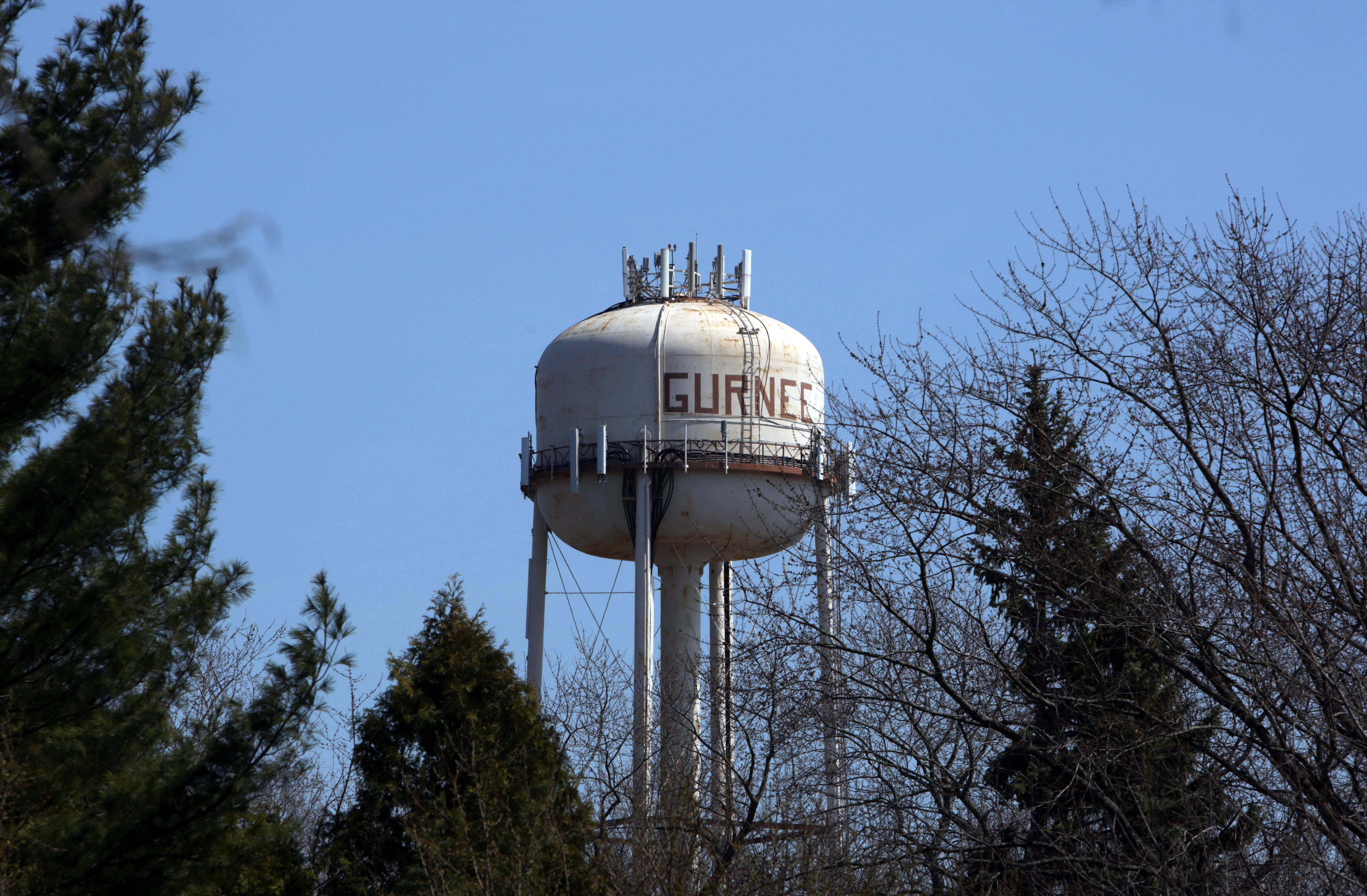 Old Gurnee water tower to come down Monday