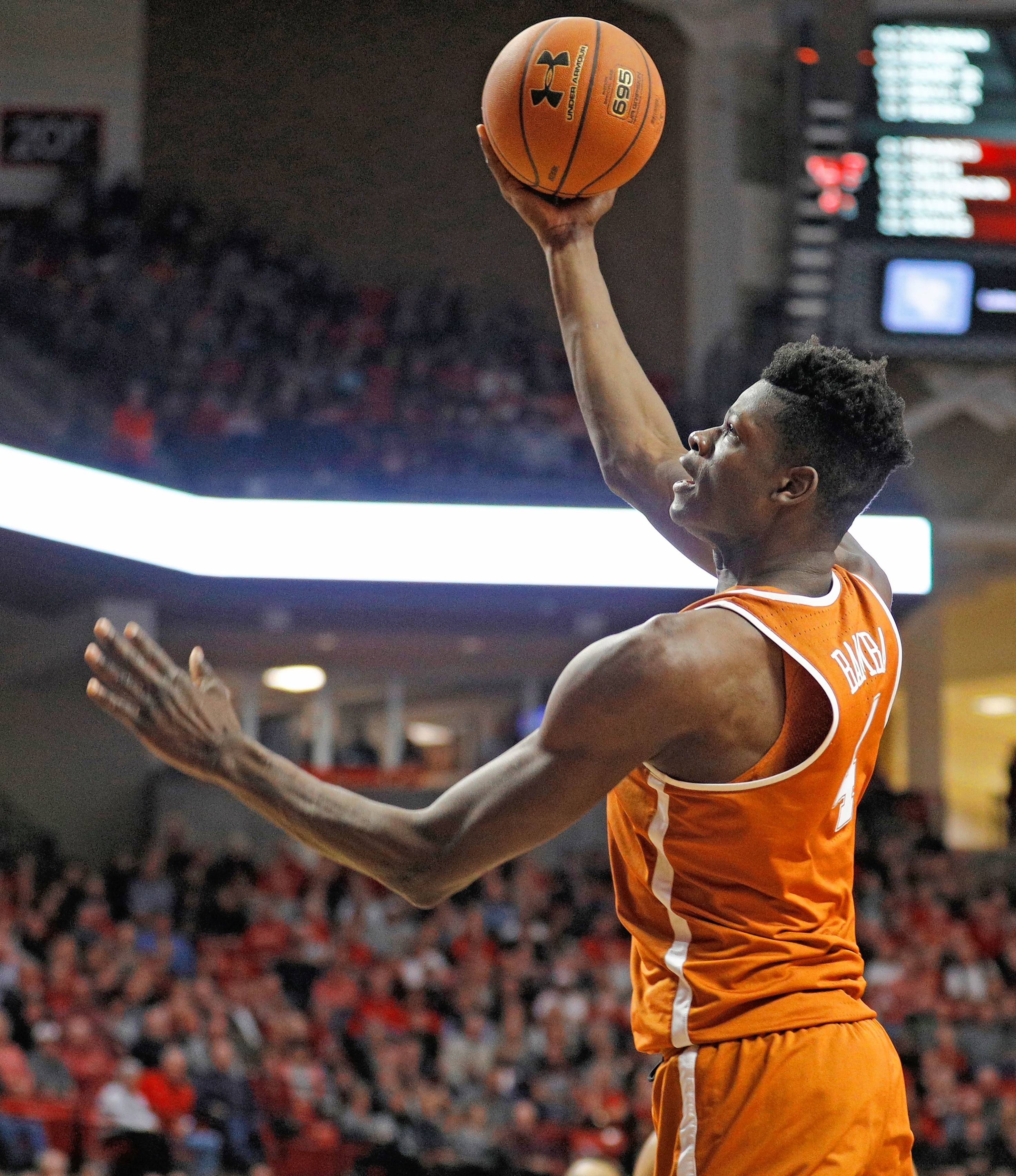 Former Texas center Mo Bamba,a  a 7-footer with a 7-foot-10 wingspan, aftered 12.9 points and 10.5 rebounds in his lone college season.
