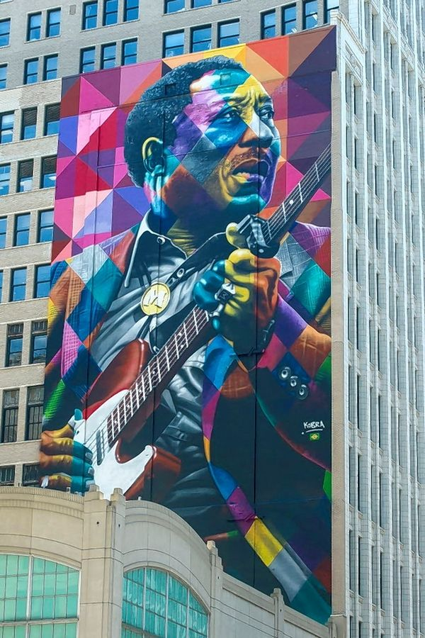 Muddy Waters wrote the songs of Chicago's blues legacy