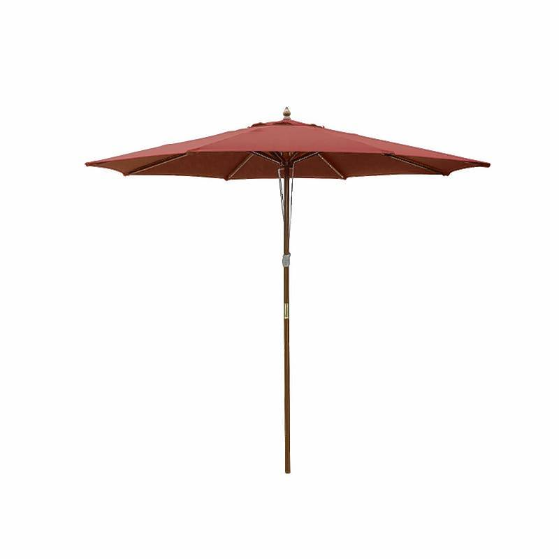 Some patio furniture with an umbrella will do the trick.