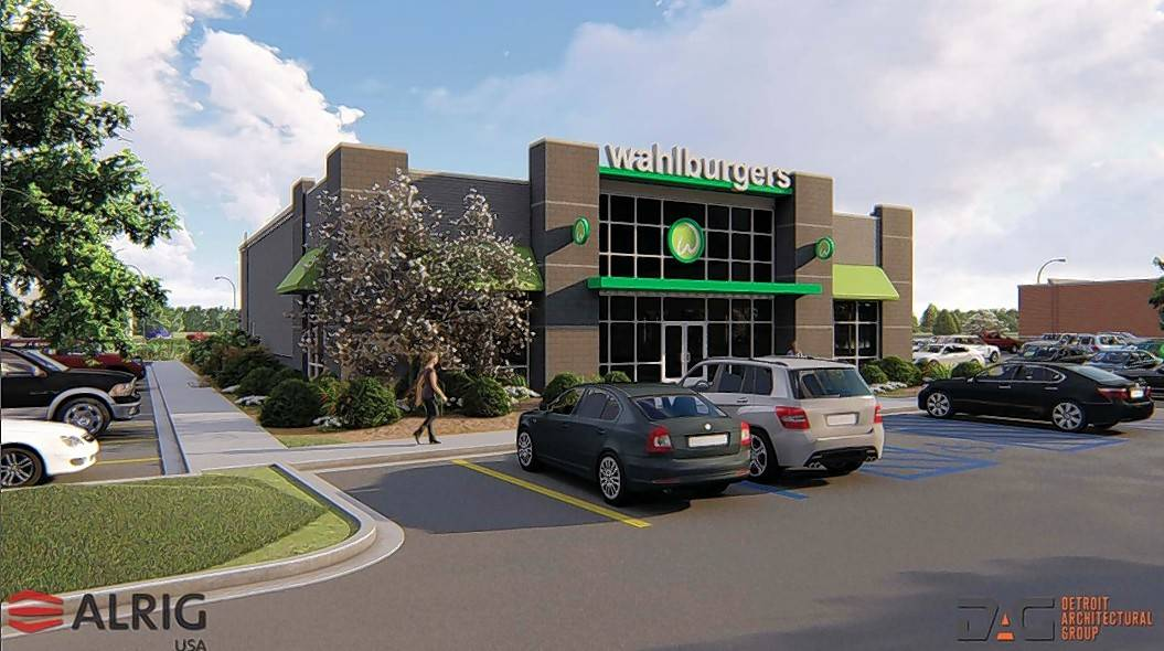 Plans for a Wahlburgers restaurant have been approved for the Meijer outlot at Route 38 and Randall Road in St. Charles.