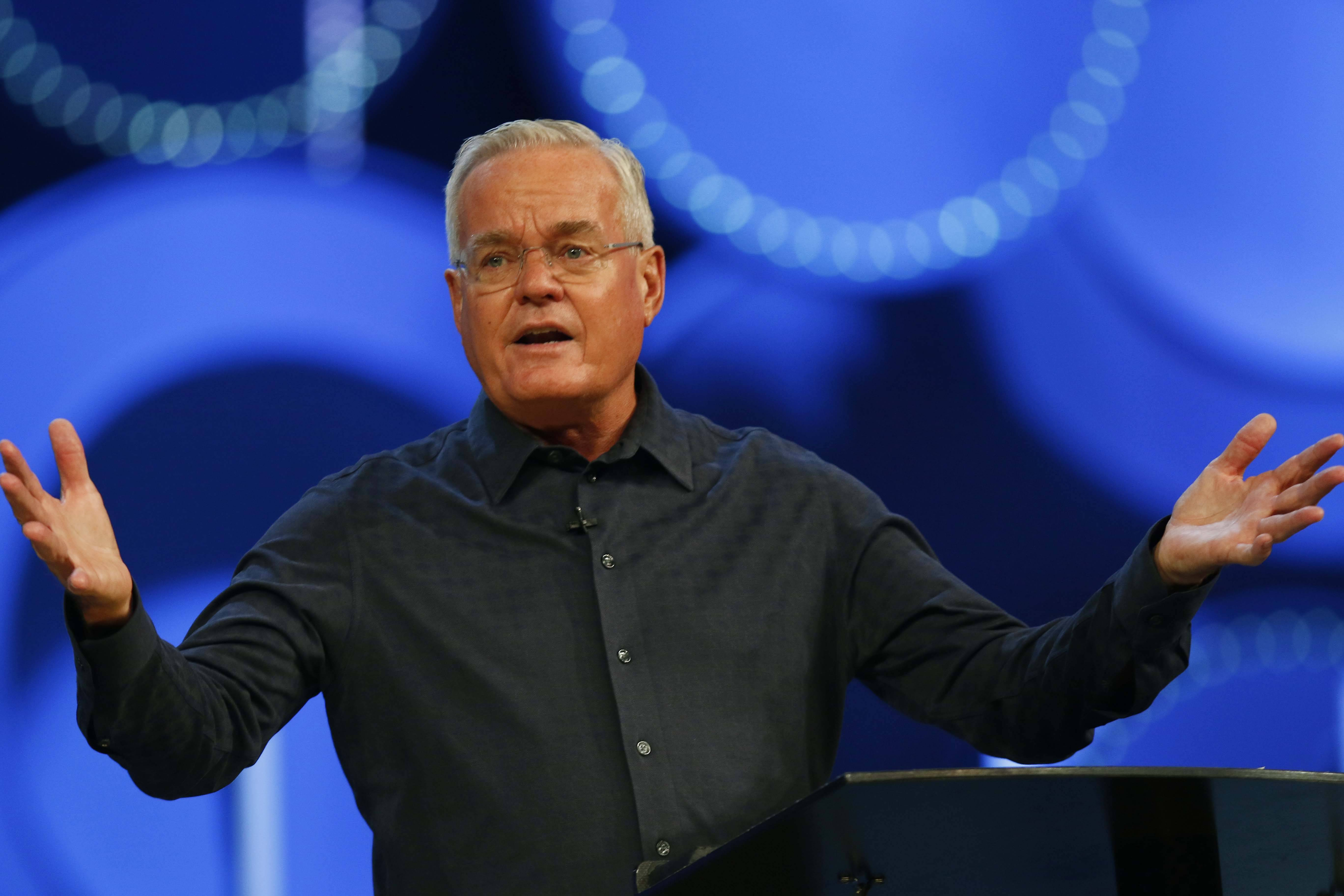 Bill Hybels stepped down as senior pastor of Willow Creek Community Church on April 10.