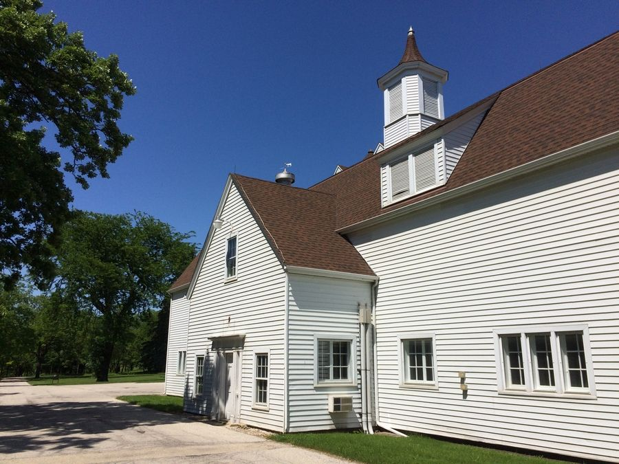 This dairy barn at Lakewood Forest Preserve is expected to be the last building standing after a planned renovation of the Wauconda-area preserve.