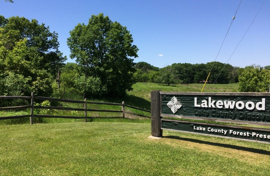 At 2,835 acres, the Lakewood Forest Preserve near Wauconda is the largest in Lake County.