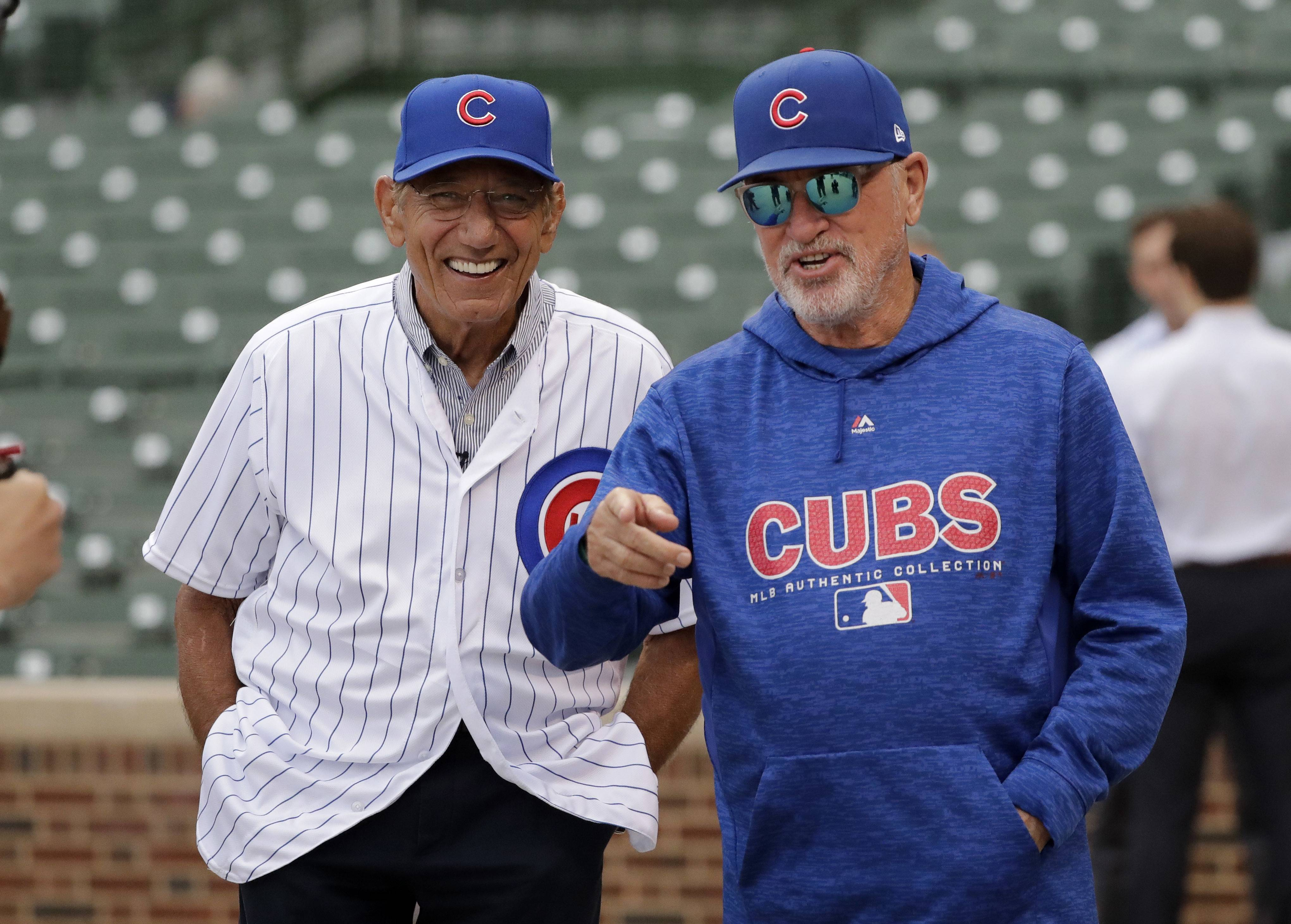 Chicago Cubs' Maddon excited about Namath visit