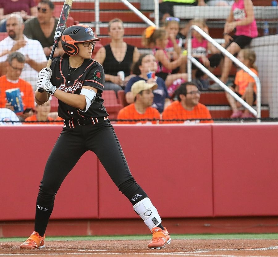 Chicago Bandits infielder/catcher Courtney Gano earned Rookie of the Week honors after collecting 8 hits in her first four NPF games.