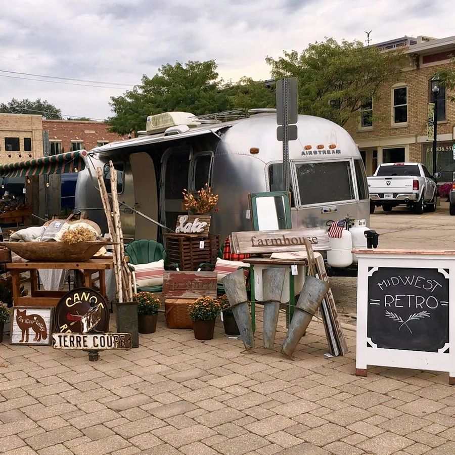 Stuff With Style, a Downtown Vintage Market, returns to East Dundee on Sunday, June, 10, featuring 20 vendors.