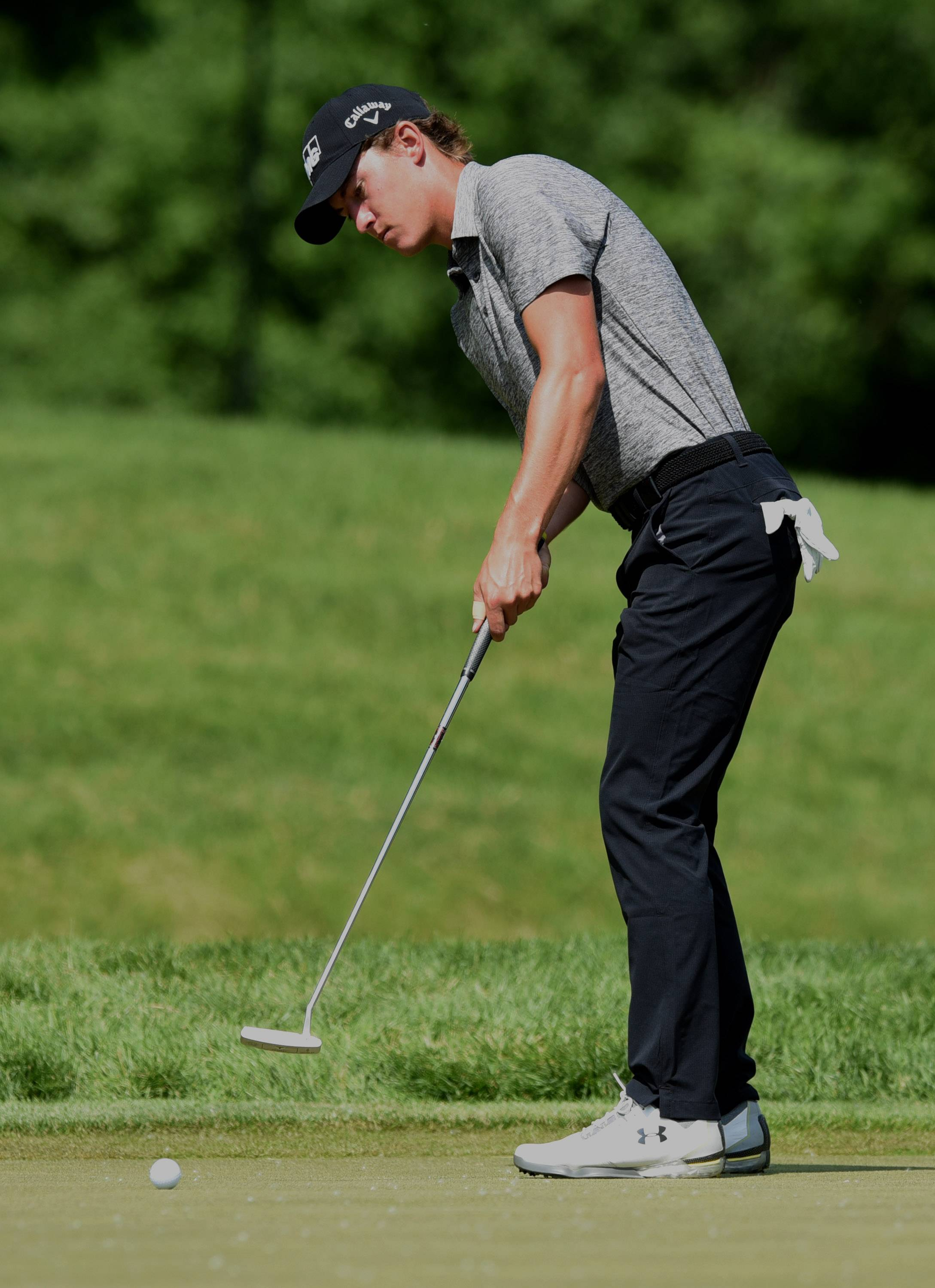 Rozner: Maverick McNealy making his own way in pro golf