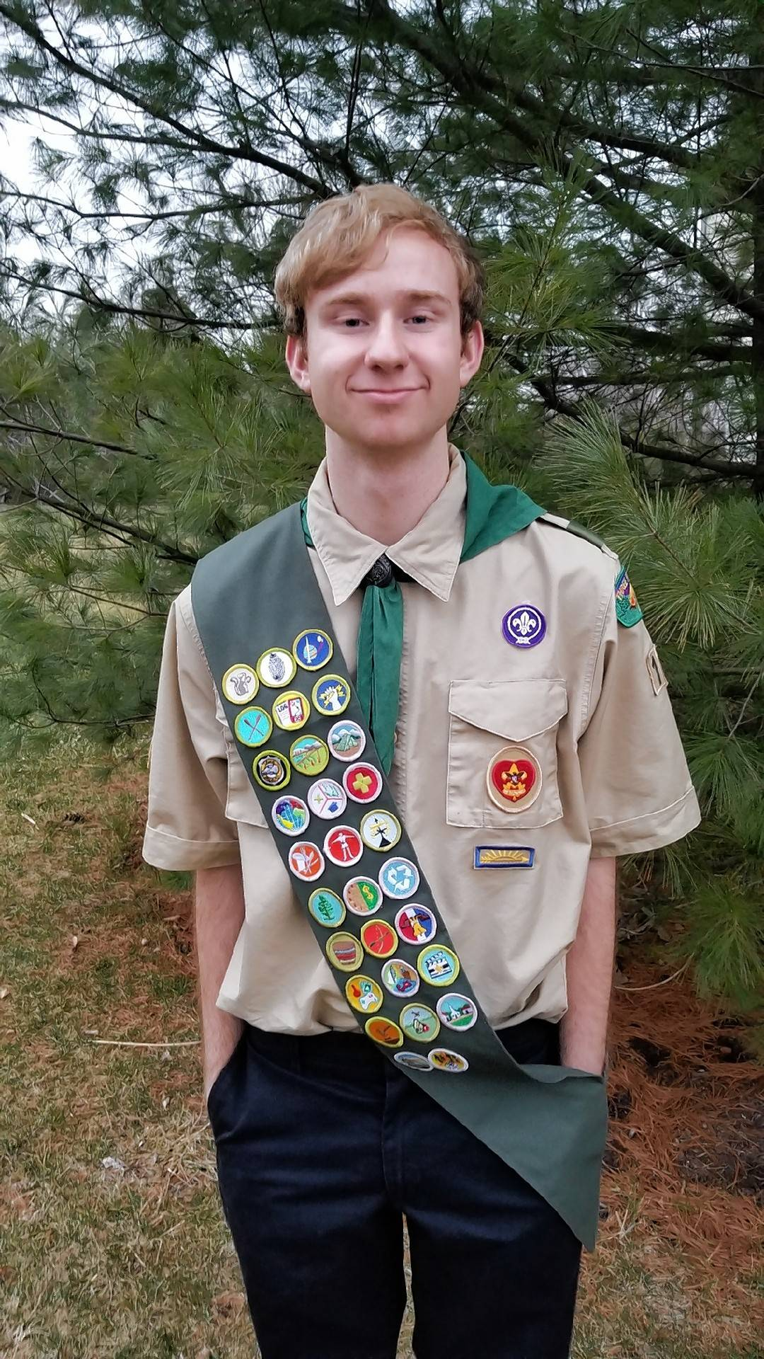 Connor David Jacobs will receive the rank of Eagle Scout at a June 17 ceremony with Boy Scout Troop 10.