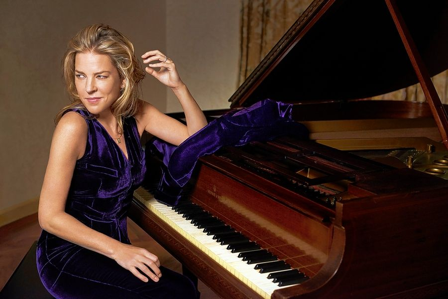 Jazz musician Diana Krall will perform at the Genesee Theatre in Waukegan on Saturday, Oct. 20.