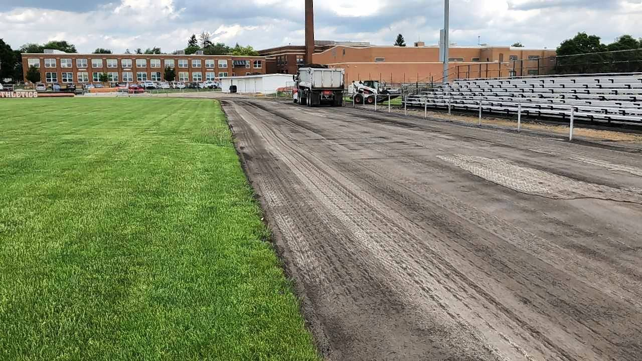 Crystal Lake High School District 155 is making nearly $14 million in improvements this summer at its four high schools, including repaving the track at Crystal Lake Central.