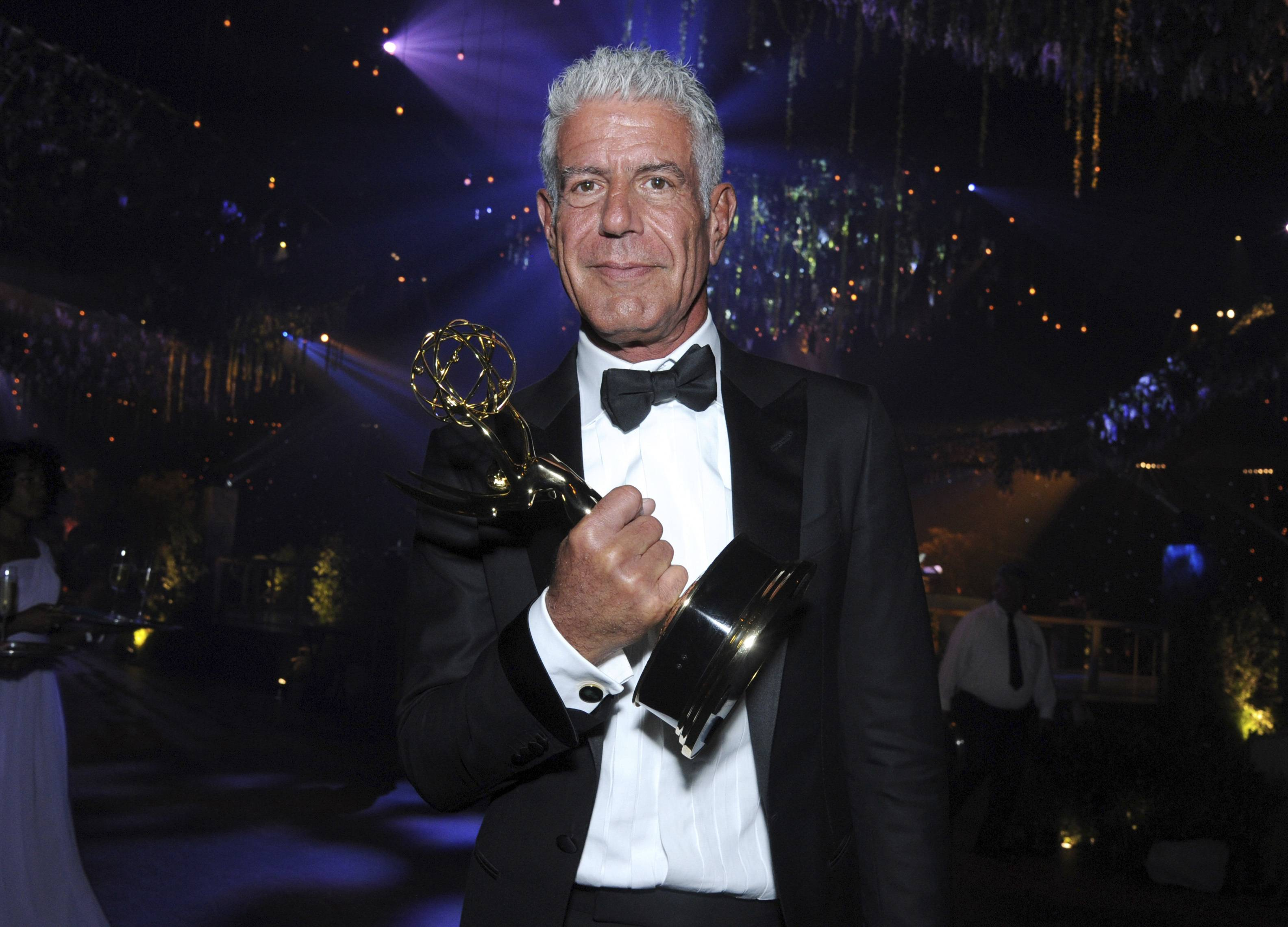 "In 2016, Anthony Bourdain won this award for his ""Anthony Bourdain: Parts Unknown"" television show. Now, his death by suicide has people taking a deeper look at the causes of suicide, and the ways to prevent it."
