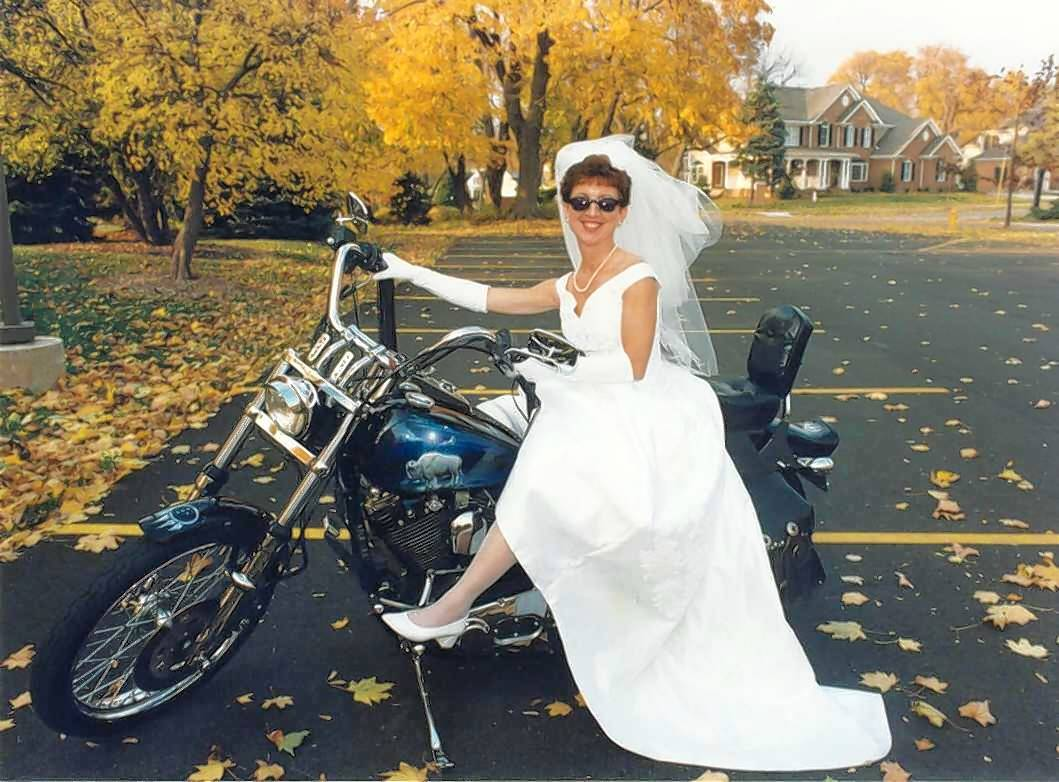 Barbara Honeyman James of Warrenville, who loved Harley-Davidson motorcycles, was a fighter throughout her 10-year ordeal with disease, said her husband Lonny James.