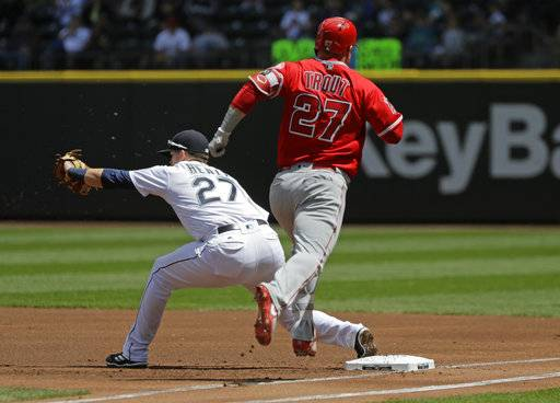 Haniger's game-ending blast gives Mariners sweep of Angels