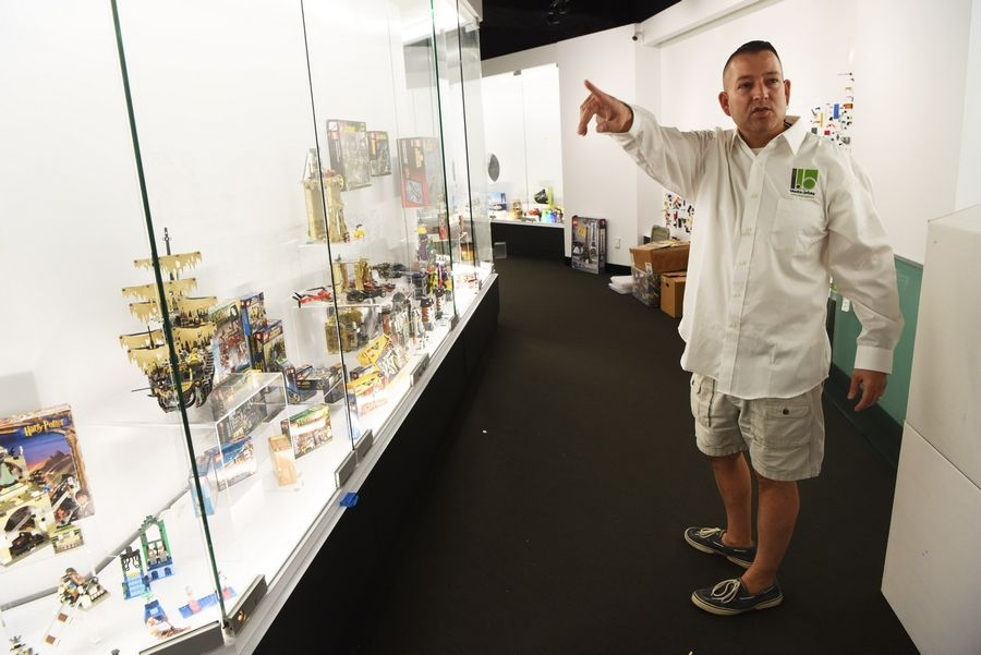 Arlington Heights resident Adam Reed Tucker wants visitors' experience of seeing him at work at Blocks to Bricks to be as special as meeting Willy Wonka in his factory.
