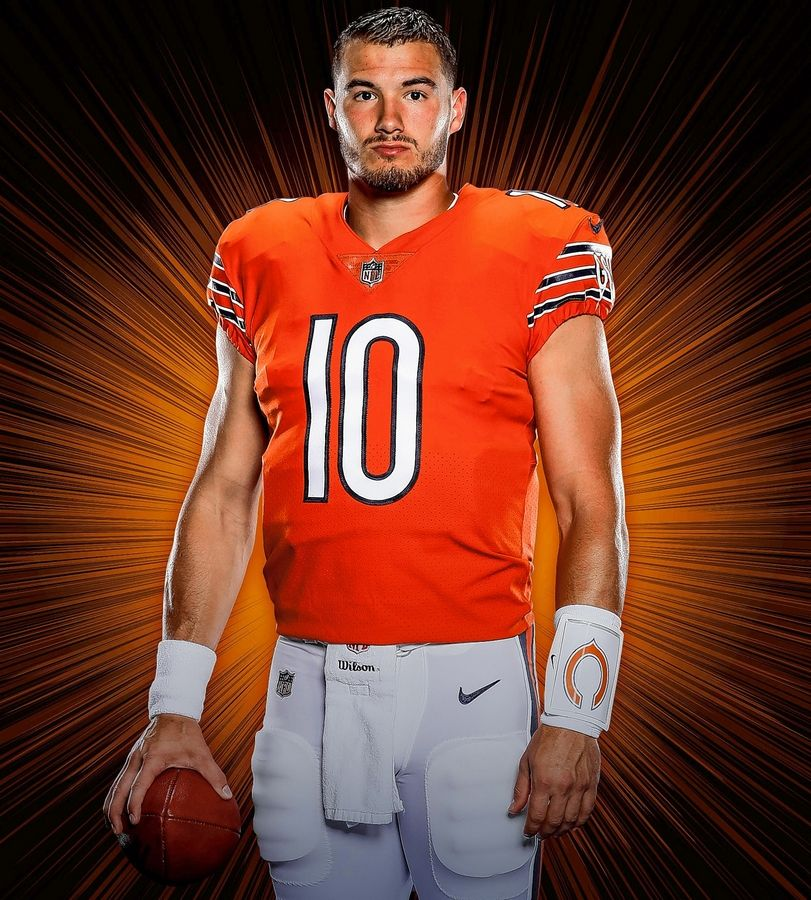 reputable site cc449 533e3 Chicago Bears to wear orange jerseys for two games this season