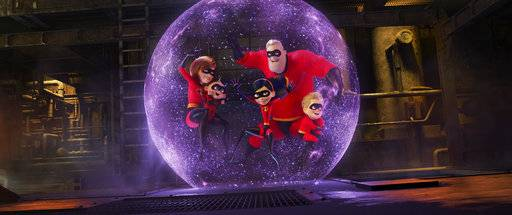 """Incredibles 2"" become the best animated opening of all time."
