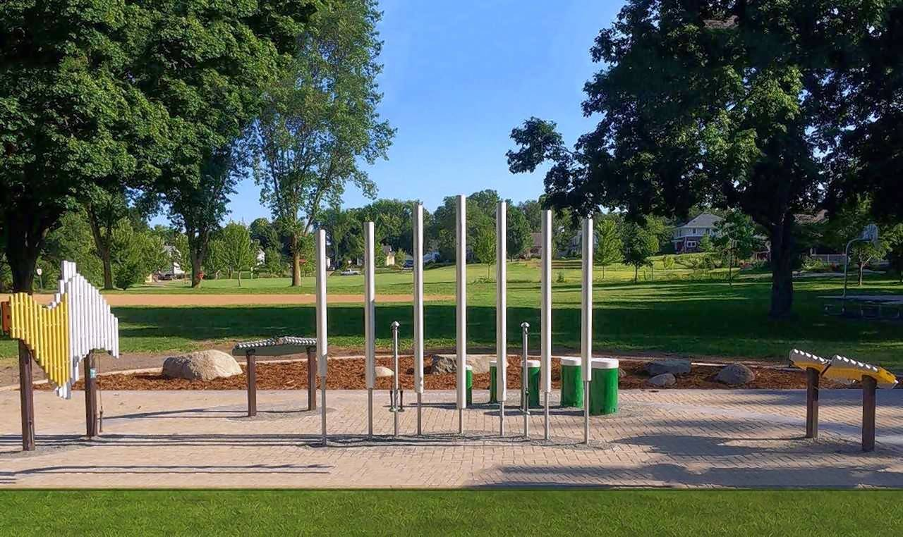 Outdoor musical instruments could come to Naperville Riverwalk