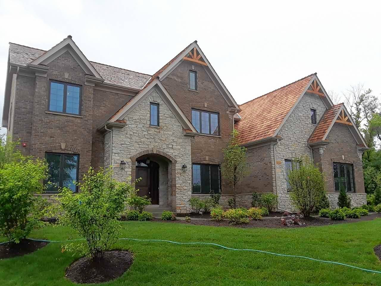 Profits from the sale of this custom home in Long Grove will be donated to an organization that helps wounded veterans