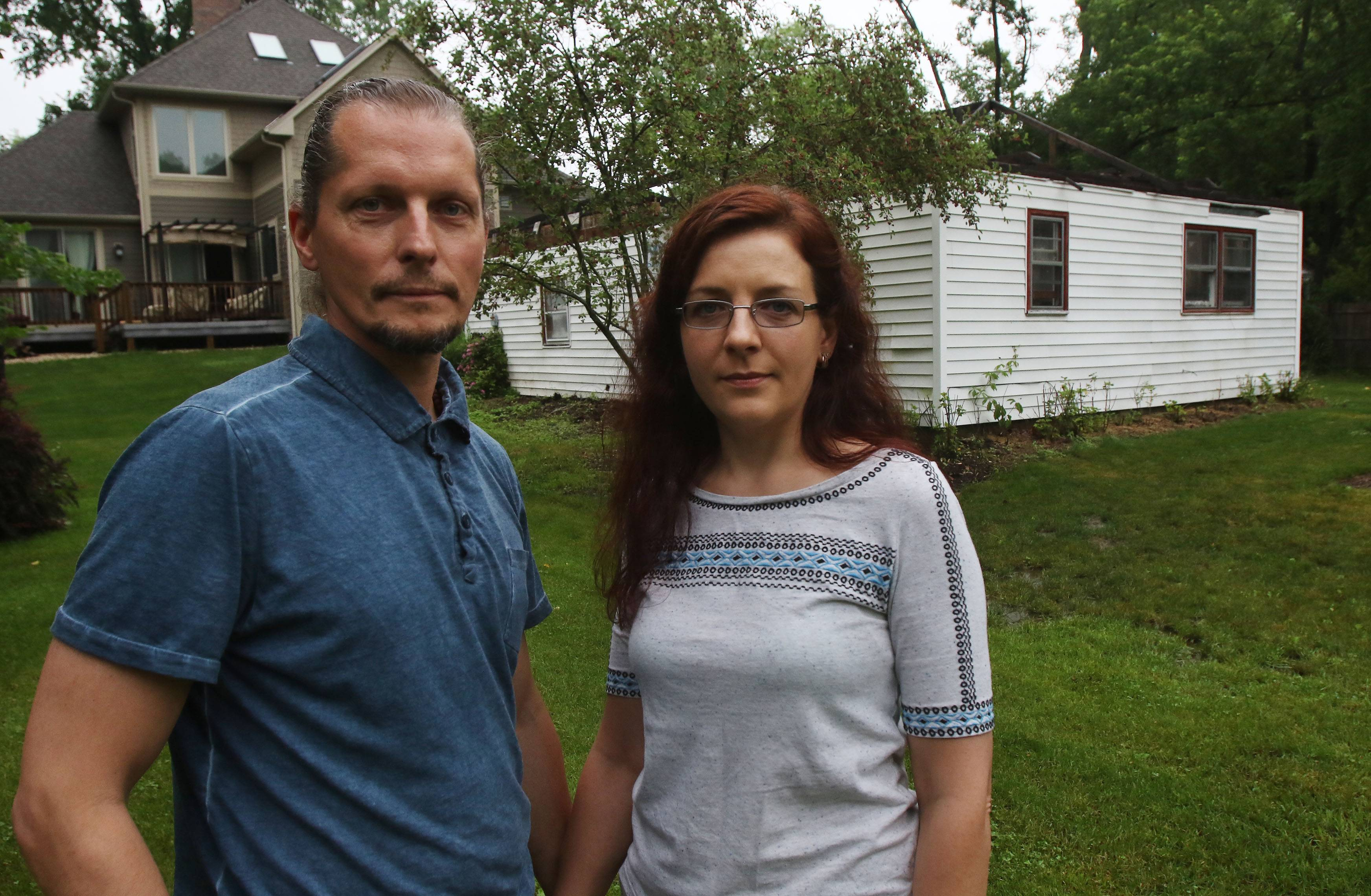 Work without permit may mean demolition for building in Palatine couple's yard