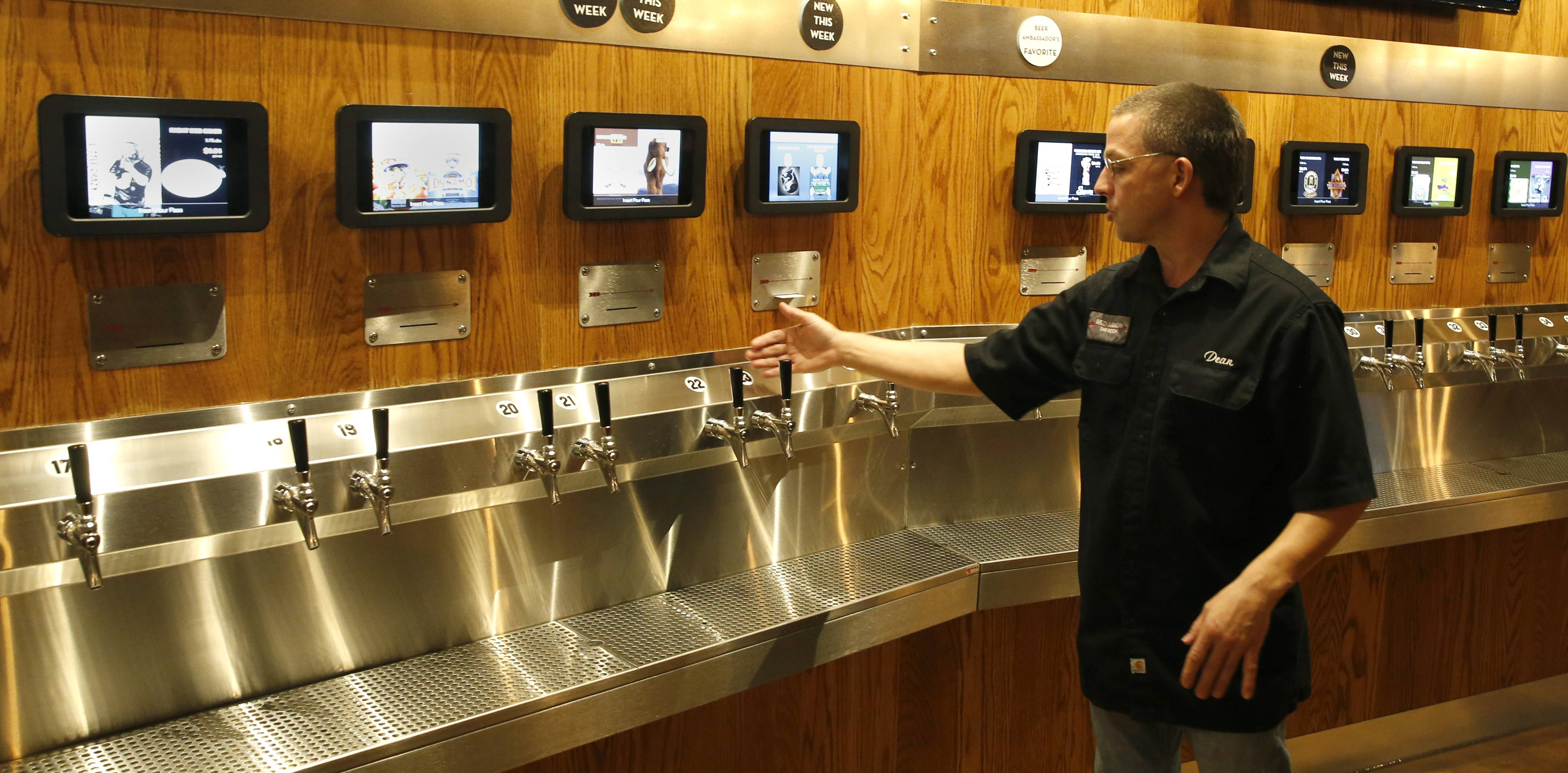 Naperville considers new regulations on self-service beer, wine taps