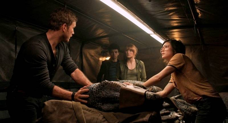 Image result for fallen kingdom blue blood transfusion