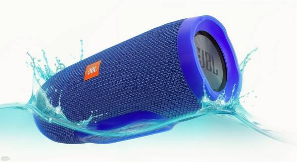 The JBL Charge 3 is among a number of portable speaker systems that run off  a - A Backyard Sound System Livens Up Your Outdoor Space