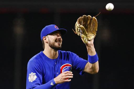 Cubs' Bryant sits 2nd straight day with sore shoulder