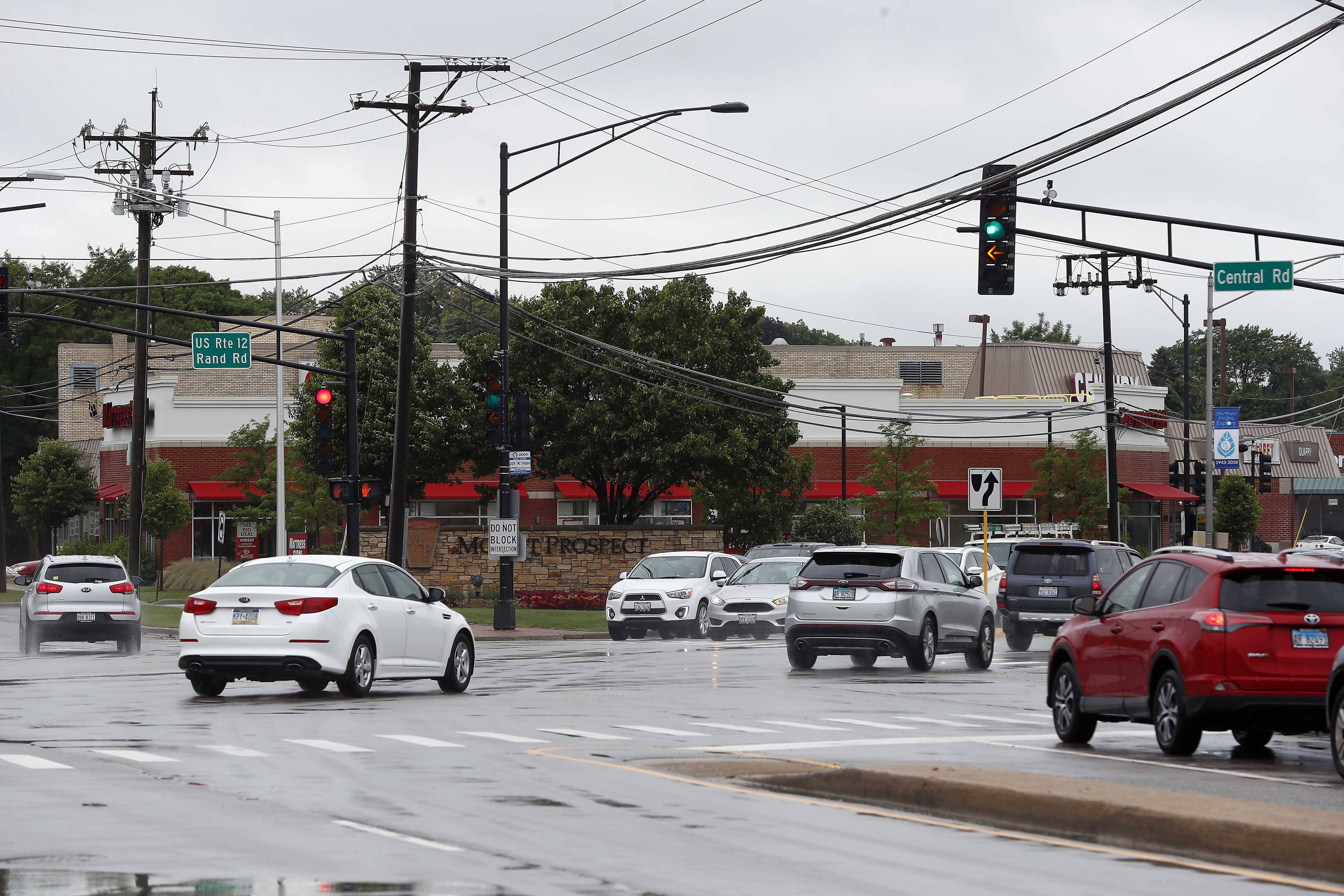 Drivers using this intersection at Rand and Central roads in Mount Prospect should brace for delays during resurfacing a roughly 3-mile stretch of Central Road from Arlington Heights Road to Rand Road. Construction crews will start on both ends and work their way toward the middle.
