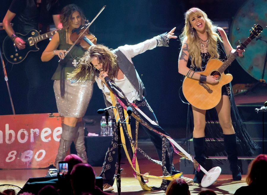 Steven Tyler will perform with the Loving Mary Band on July 7 at Naperville's Ribfest.