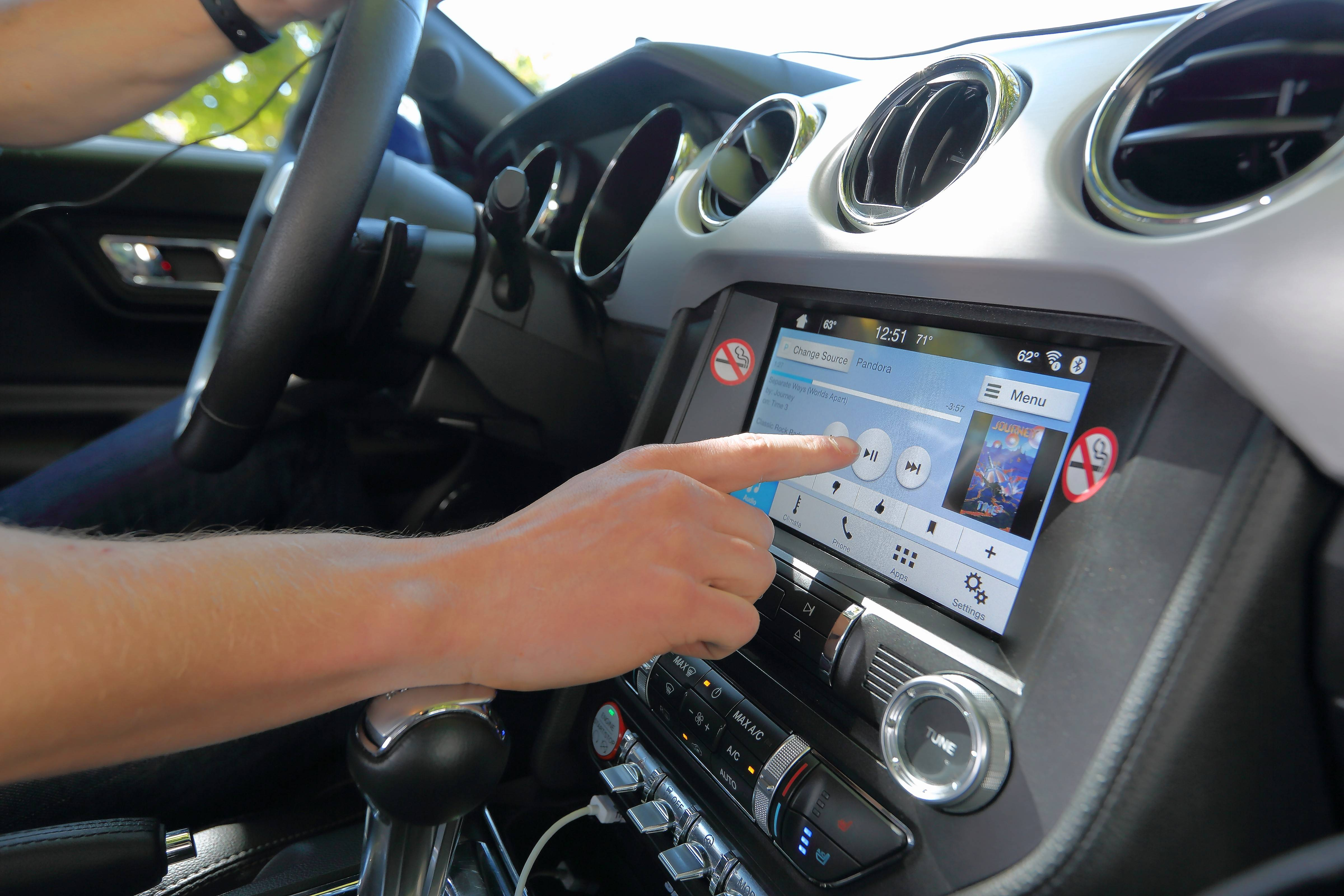 """What we've been studying for the last three or four years is the explosion to technology in the vehicle -- hundreds of buttons, touch screens, gesture controls, heads-up displays, voice commands,"" said David Strayer. ""Our concern is that in many cases the driver will assume that if it's put in the vehicle, and it's enabled to be used while the vehicle's in motion, then it must be safe. That's just simply not true."""