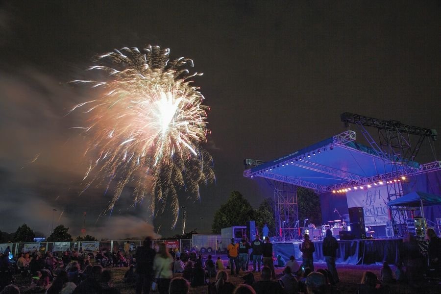 The Mount Prospect Lions Club's 80th annual festival will once again be held at Melas Park near Central and Busse roads. It runs from July 4 to 8, with fireworks on the opening and closing nights.