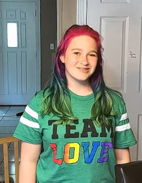 Inspired by her experience at the inaugural Aurora Pride Parade last month, Molly Pinta, 12, is working to organize a pride parade in her hometown of Buffalo Grove.