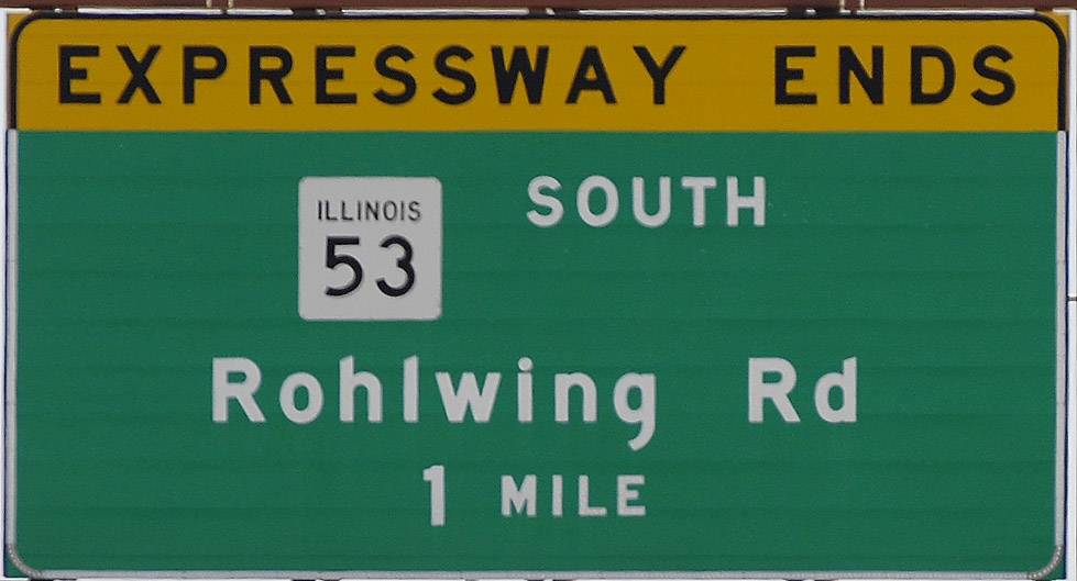 The expressway ends, but the debate over extending Route 53 north into Lake County continues.