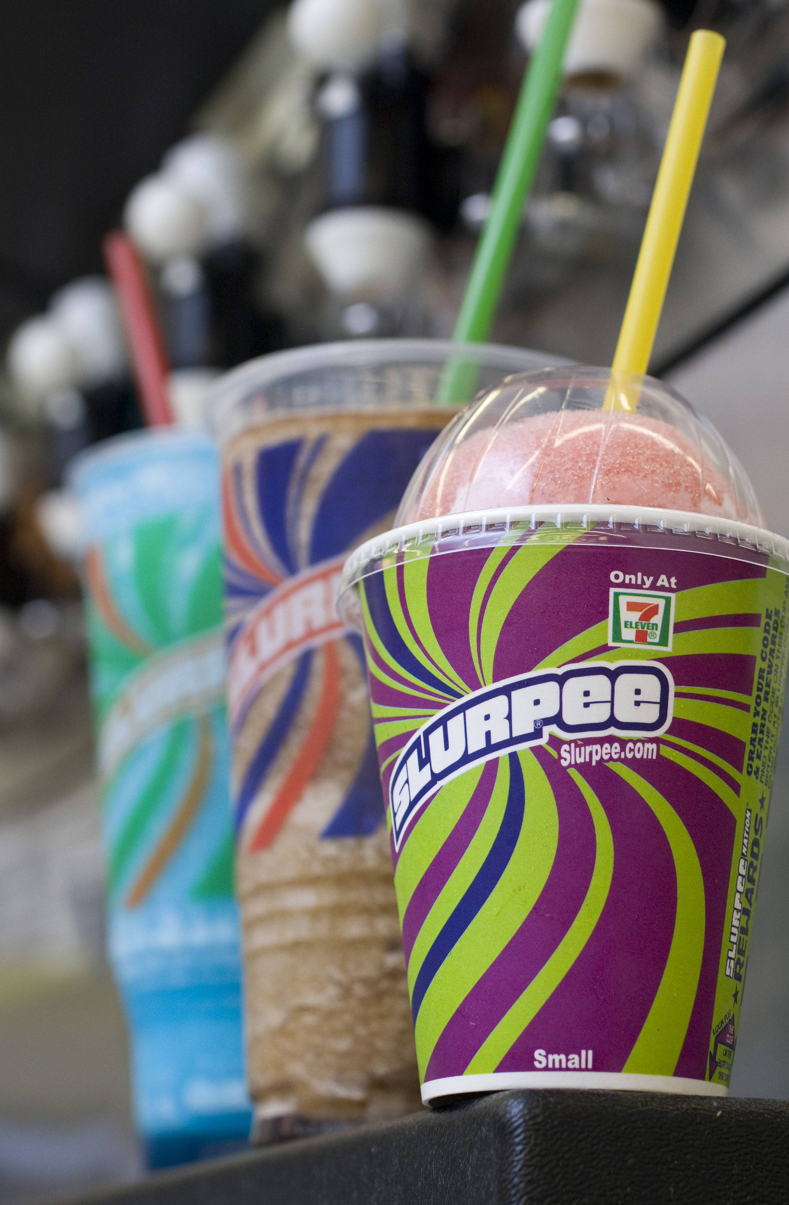 7-Eleven is celebrating its 91st birthday today by giving away free Slurpees.